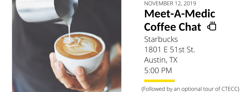 Communications Coffee chat on 11/12/19