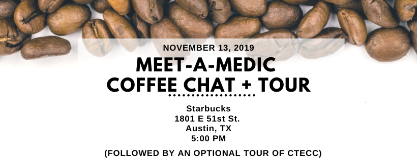 Communications coffee chat on 11/13
